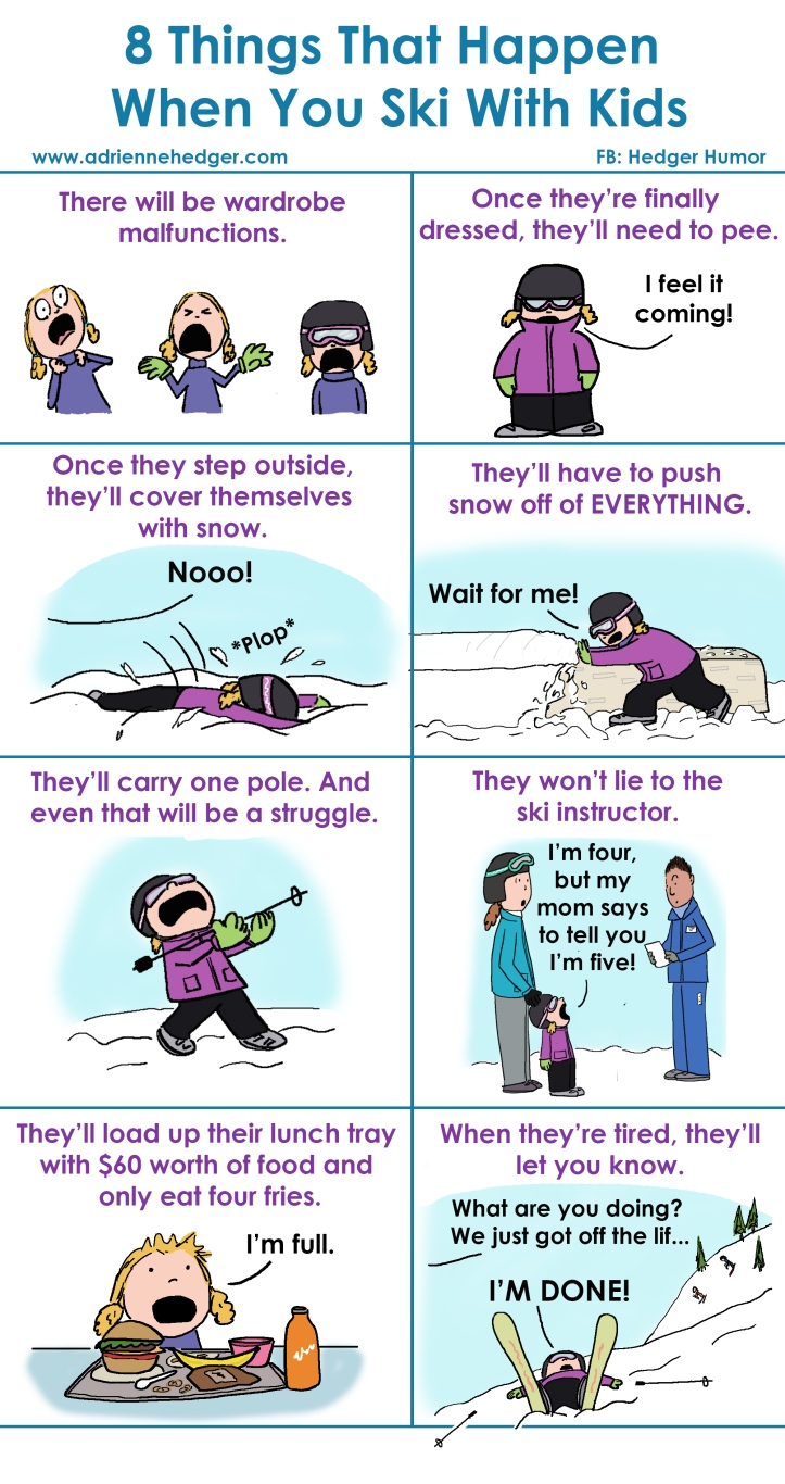 8 Things That Happen Kids Ski Updated
