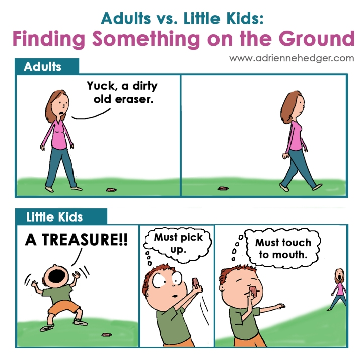 Adults Vs. Kids - Something on Ground 1200