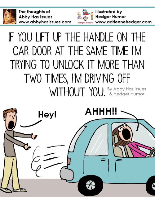 Car Door Handle - Names After Words 500