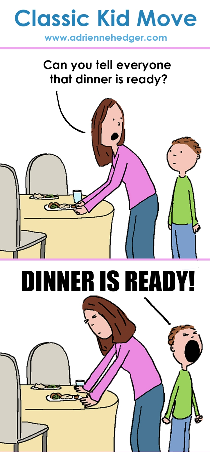 Classic Kid Move - Dinner is Ready Updated