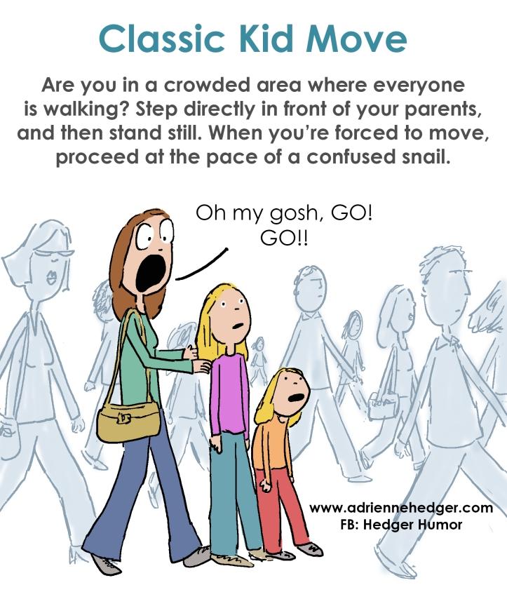 Classic Kid Move - Walking Slow