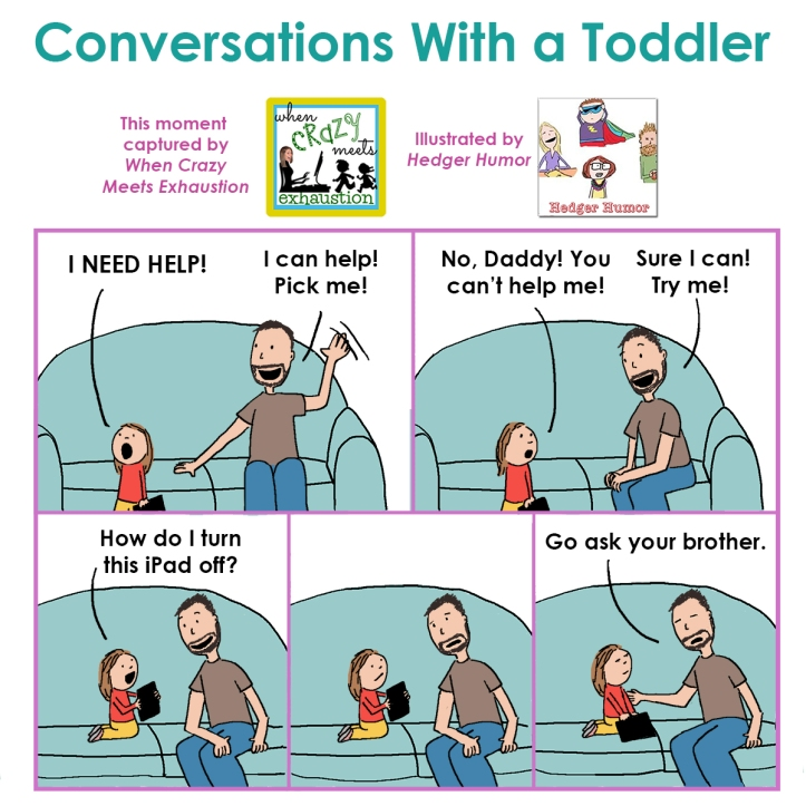 Conversations With a Toddler - Tech Issues 1200