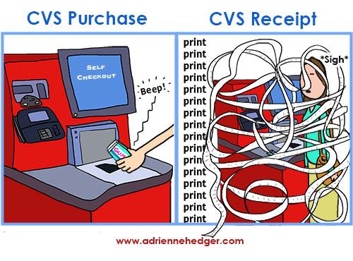 CVS Receipt 500
