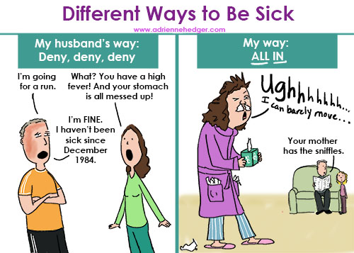 Different Ways to Be Sick 500