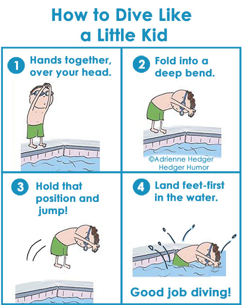 How to Dive Like Little Kid 500