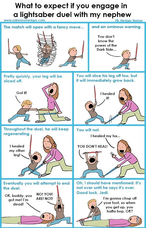 How to duel my nephew 500