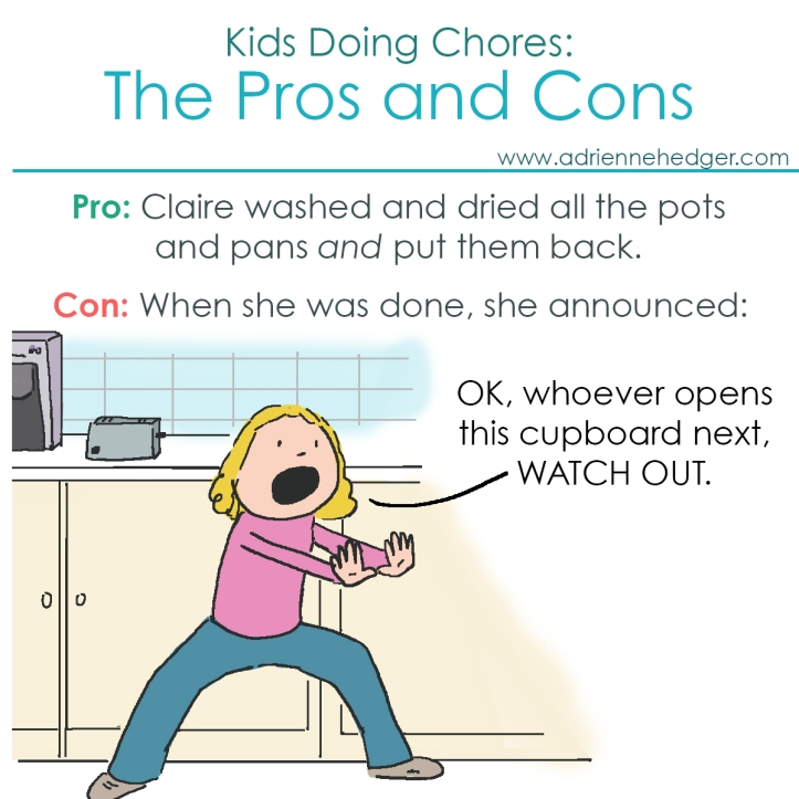Kids Doing Chores Pros and Cons