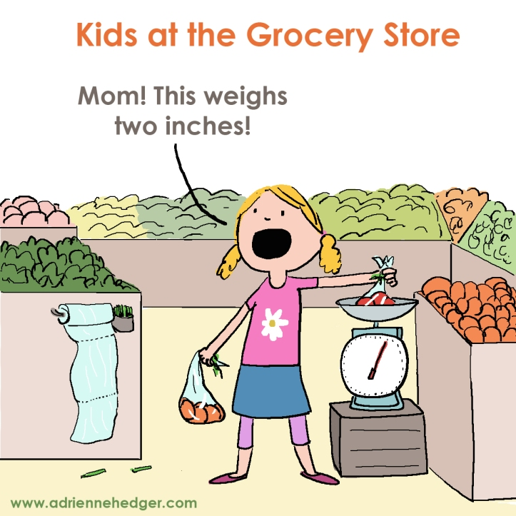 Kids in the Grocery Store