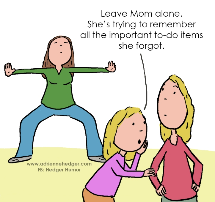 Mom requests moment of slience