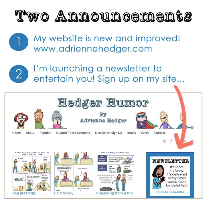 New Website Promo