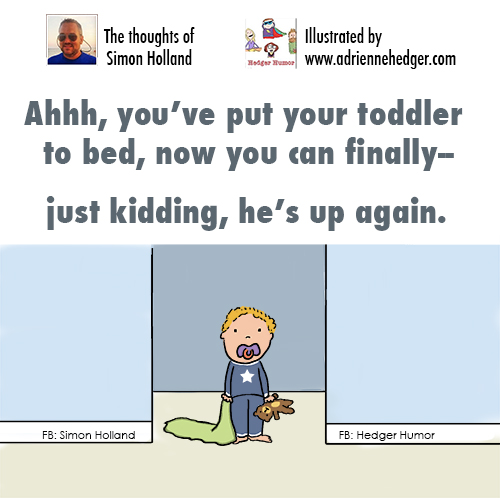Simon - Toddler to Bed 500