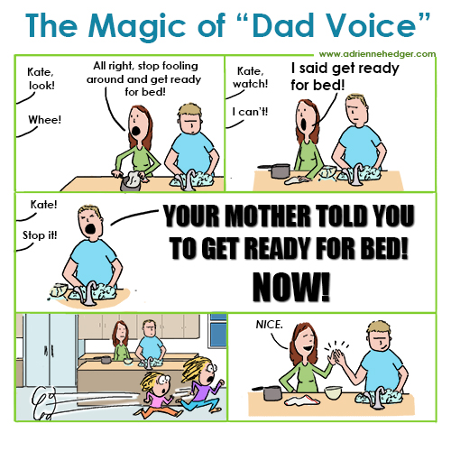 The Magic of Dad Voice 500