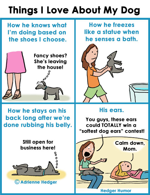 things I love about my dog 500