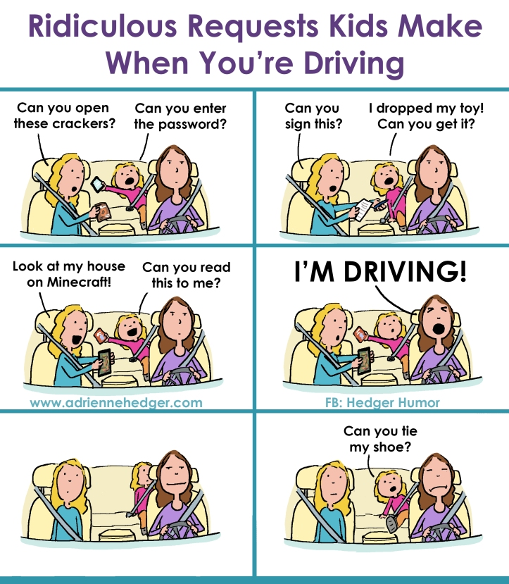 Things Kids Ask While You're Driving 3