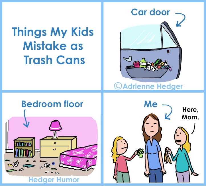 Things My Kids Mistake As Trash Cans - UPDATED