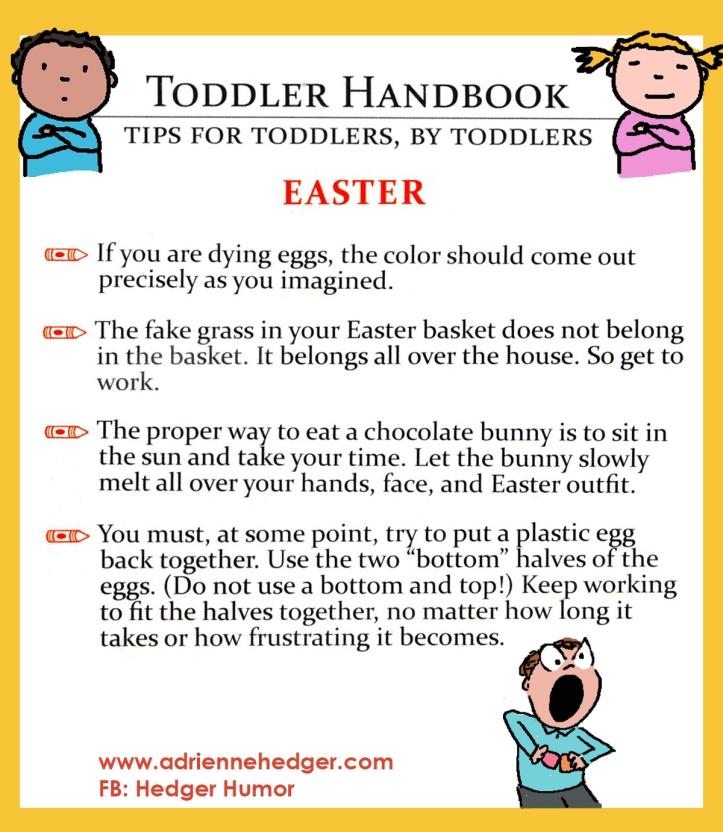 Toddler Handbook - Easter