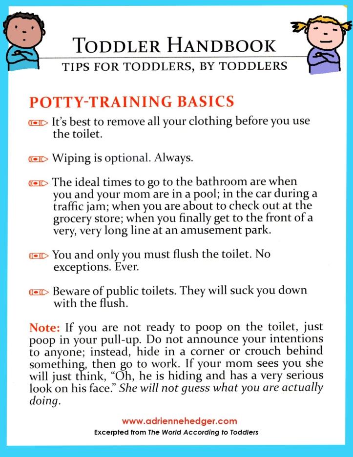 Toddler Handbook - Potty Training