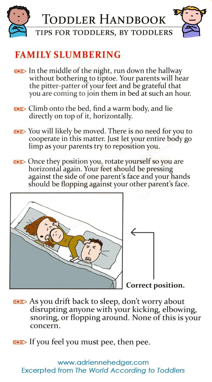Toddler Handbook - Sleeping