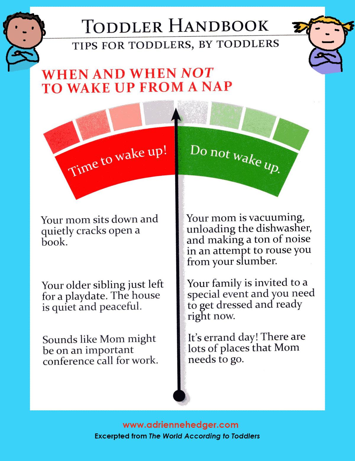 Toddler Handbook - Wake Up From Nap
