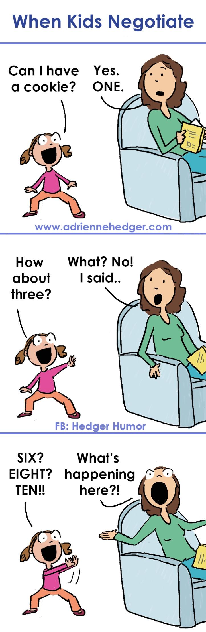 When Kids Negotiate