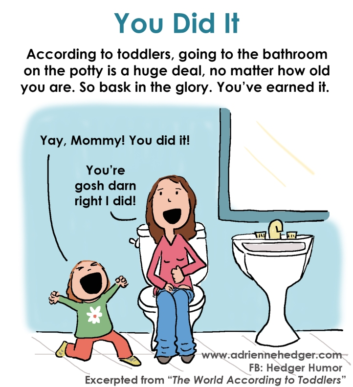 You Did It Going Potty