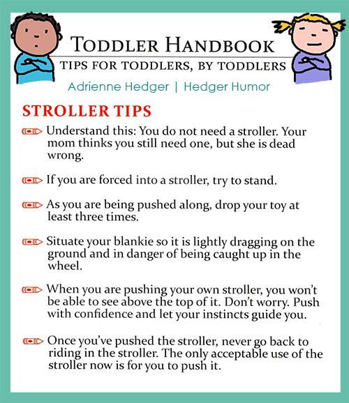 Toddler Handbook - Strollers Updated 2-500